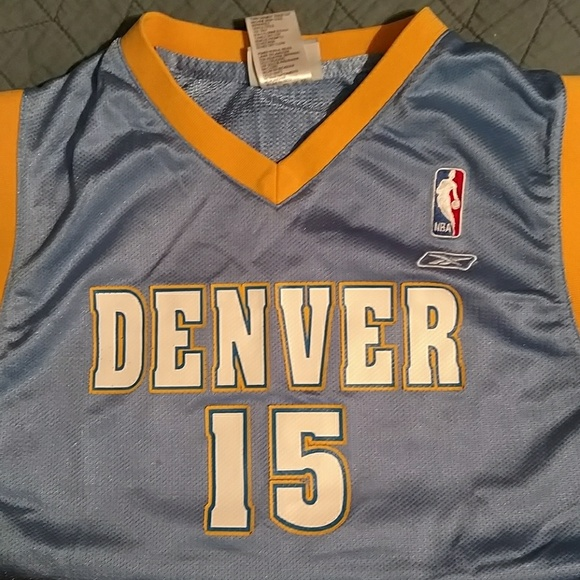 best loved c8e46 aec96 Carmelo Anthony Denver Nuggets Jersey Youth large